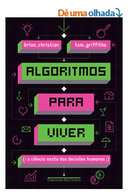 Capa do livro Algoritmos para viver