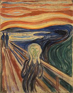 Imagem do quadro O Grito de Edvard Munch